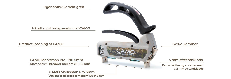 Picture of: Camo Terrasse Montering Gjort Smart Ingen Synlige Skruehuller