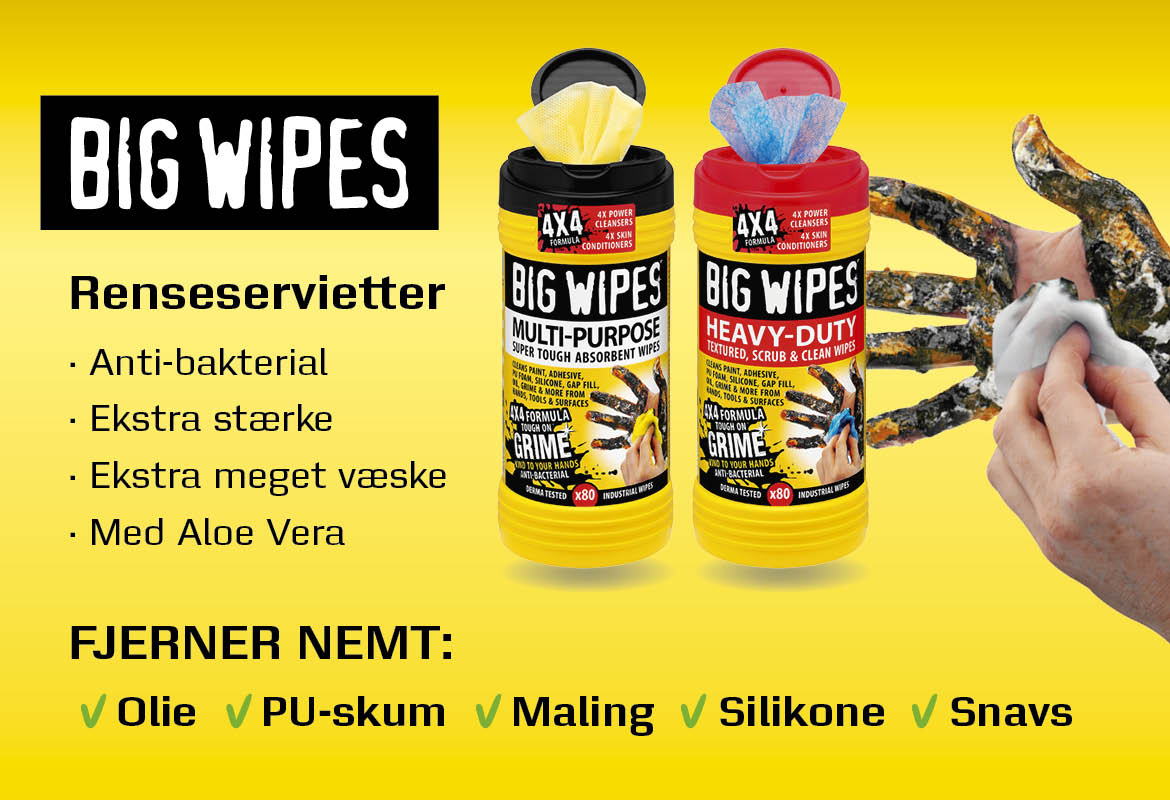 BIG WIPES - Renseservietter