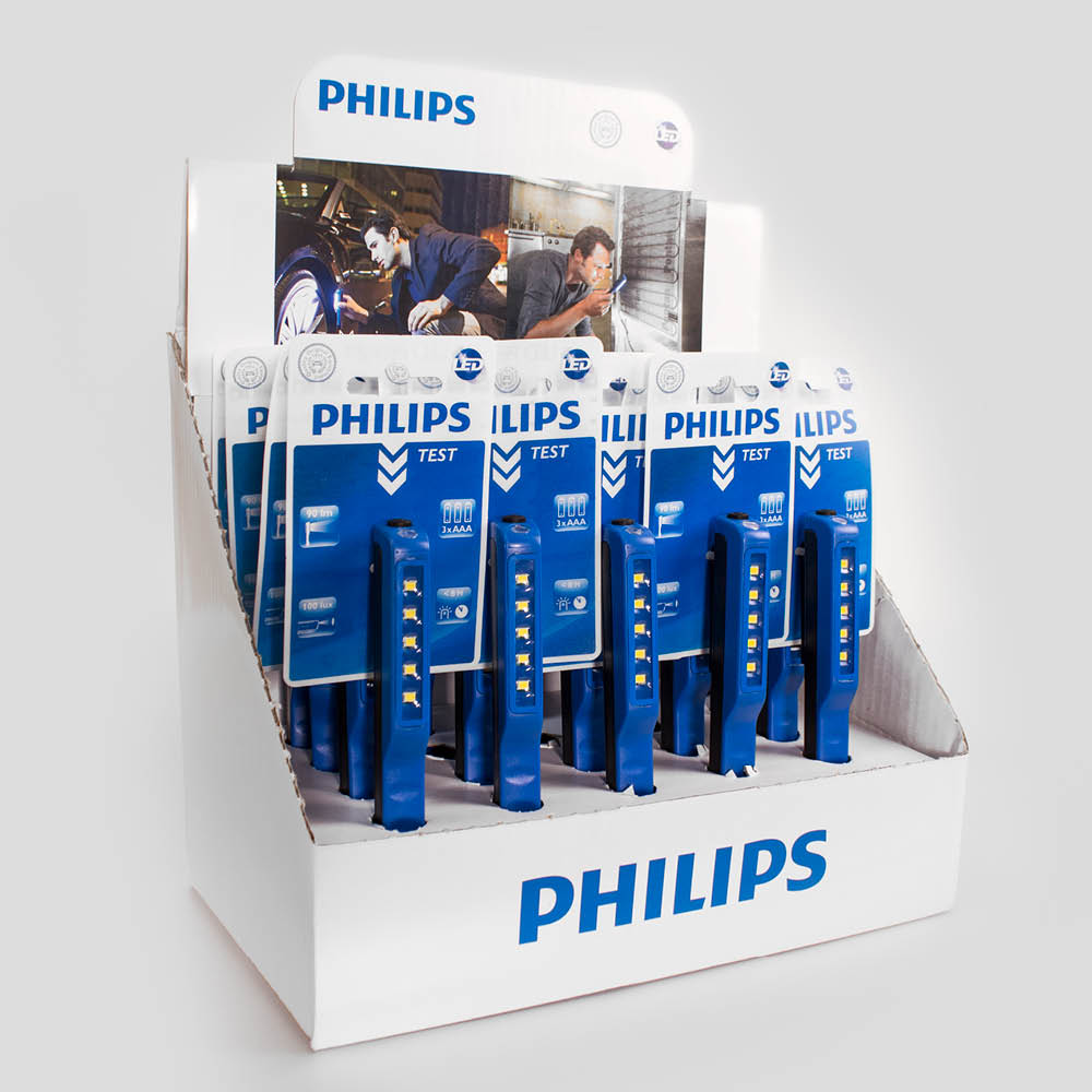 PHILIPS · DISPLAYS · Salgs- og demodisplay løsninger