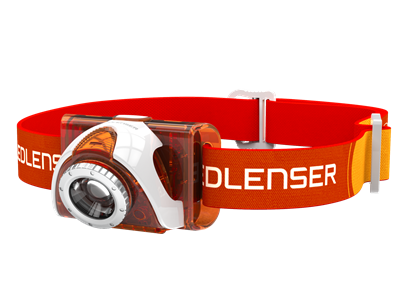 LEDLENSER SEO3 - ORANGE *TEST-IT*