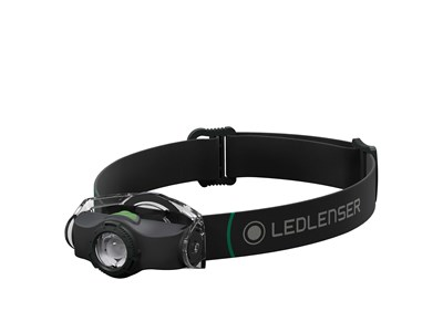 LEDLENSER MH4 - SORT *BOX*