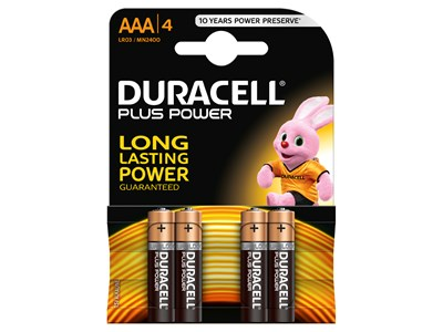 LR03 DURACELL PLUS AAA BL.4
