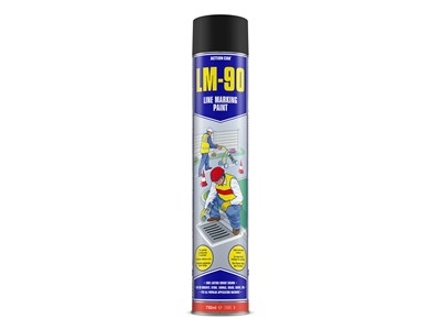 LM-90 750 ML - MARKING PAINT BLACK