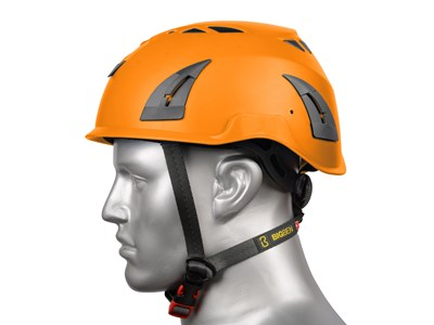 BIGBEN UN-VENTED HELMET - ORANGE