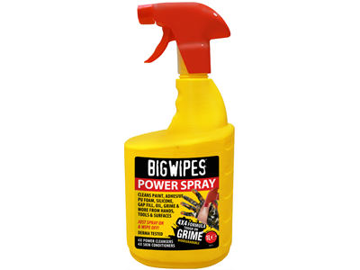 BIG WIPES RED POWER SPRAY