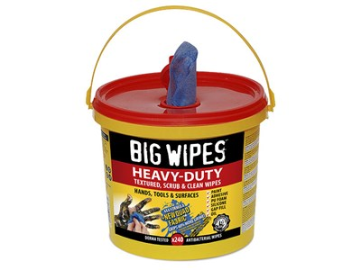BIG WIPES HEAVY-DUTY 240 - RED