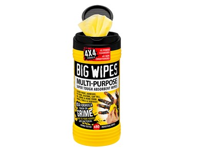 BIG WIPES MULTI-PURPOSE 80 - BLACK