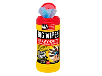 BIG WIPES HEAVY-DUTY 80 - RED