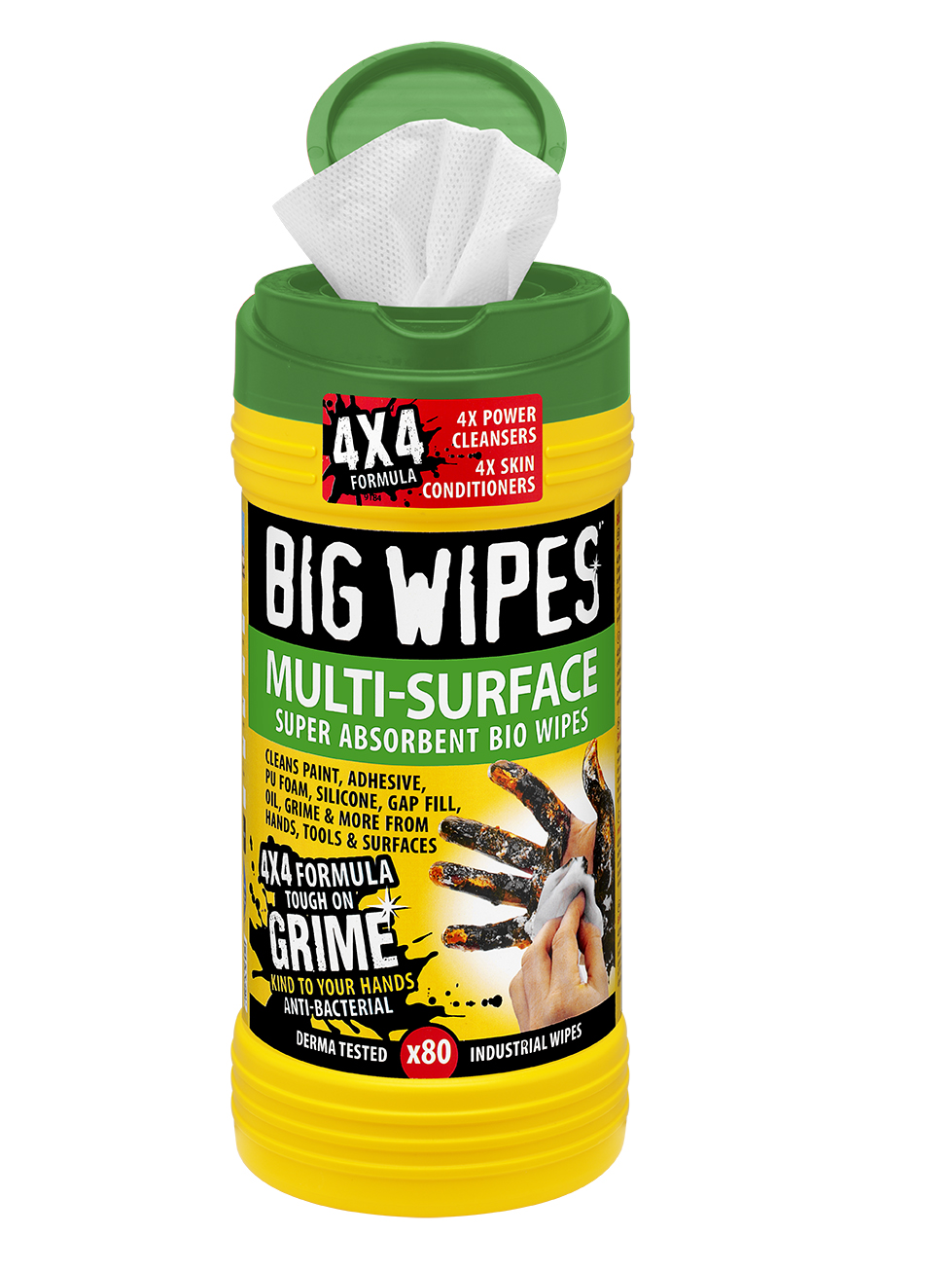 BIG WIPES MULTI-SURFACE 80 - GREEN
