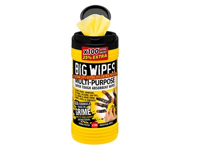 BIG WIPES MULTI-PURPOSE 100 - BLACK