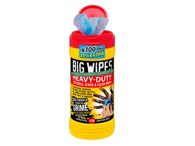 BIG WIPES HEAVY-DUTY 100 - RED