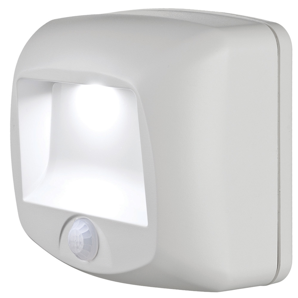 STEP/DECK LIGHT - WHITE *BLISTER*