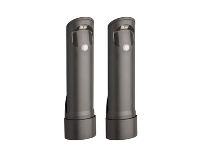 COMPACT PATH LIGHT 2-PACK - BROWN *BOX*
