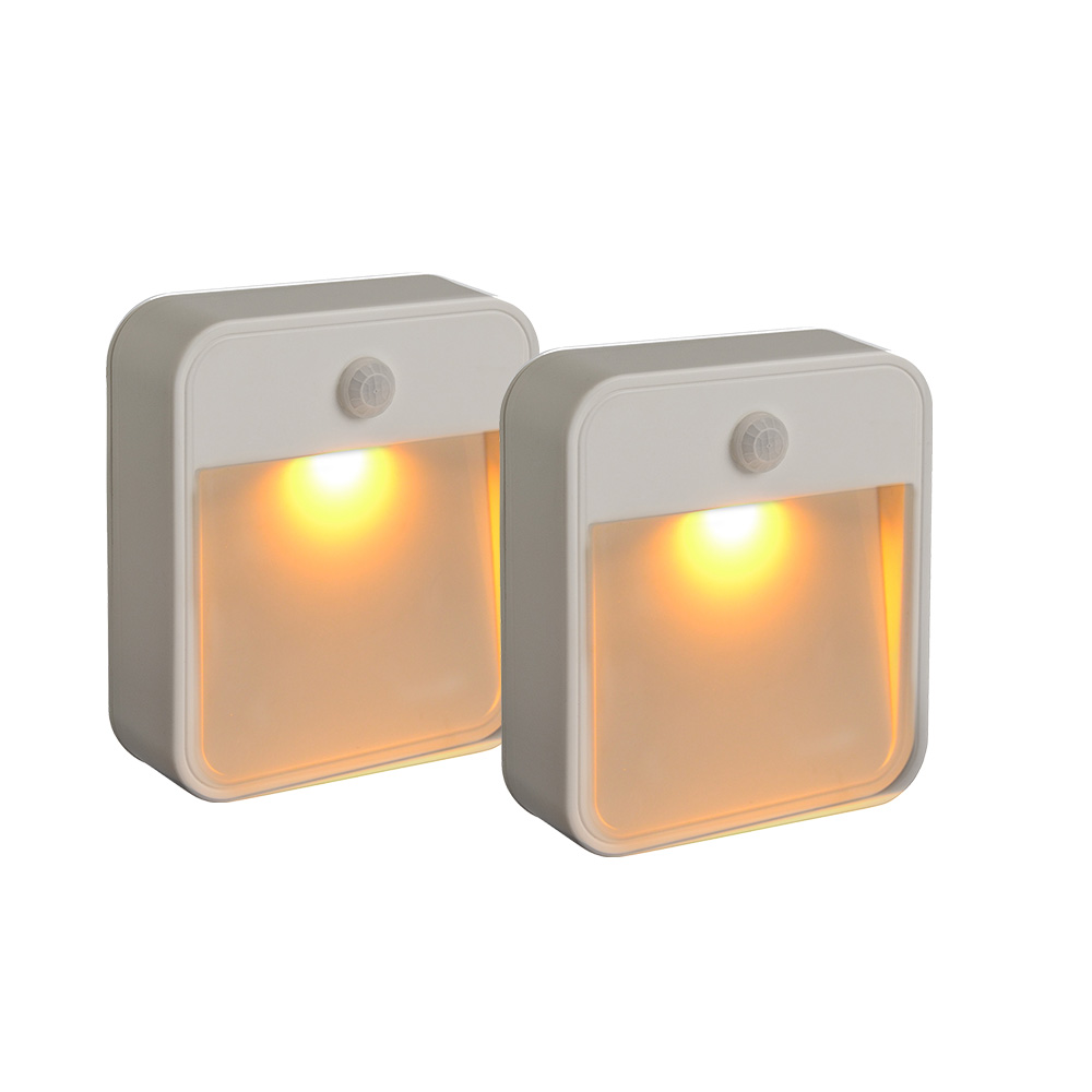 STICK ANYWHERE LIGHT - 2-PACK AMBER LED