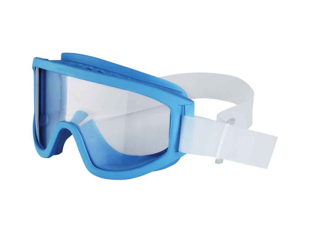 UNIVET 611 LIGHT BLUE W/ VENT CLEAR LENS