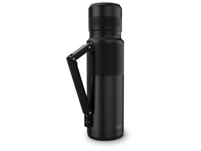 THERMAL BOTTLE 1,2 L - MATTE BLACK