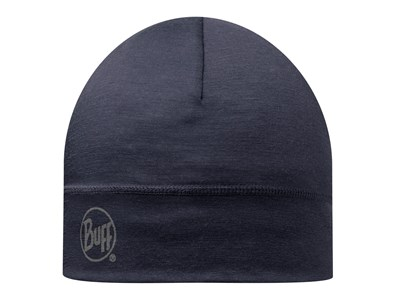 BUFF MERINO 1 LAYER HAT - NAVY - SOLID