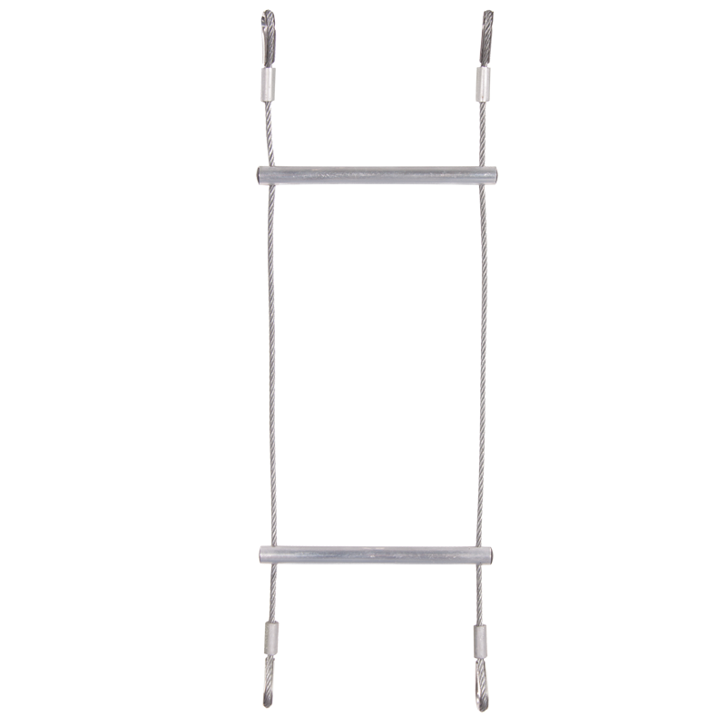 LADDER - WIRE STIGE M. ALU. TRIN - 5 M.