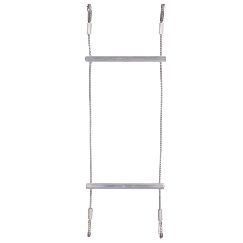 LADDER - WIRE STIGE M. ALU. TRIN - 10 M.